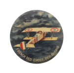 French Red Cross December 6 1918 Events Button Museum