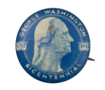 George Washington Bicentennial Event Button Museum