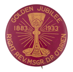 Golden Jubilee Event Button Museum