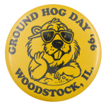 Ground Hog Day 1996 Event Button Museum