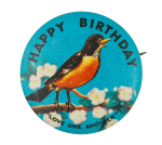 Happy Birthday Love One Another Event Button Museum