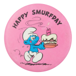 Happy Smurfday Event Button Museum