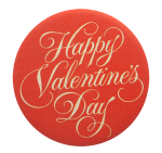 Happy Valentine's Day Events Button Museum