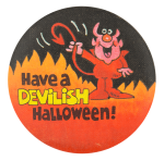 Have a Devilish Halloween  Event Button Museum