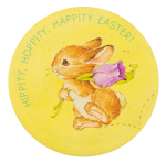 Hippity, Hoppity, Happity Easter Event Button Museum