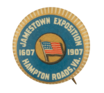 Jamestown Exposition Event Button Museum