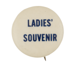 Ladies' Souvenir Event Button Museum
