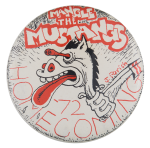 Mangle the Mustangs Event Button Museum