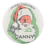 Merry Christmas Danny Event Button Museum