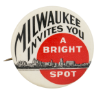 Milwaukee Invites You Event Button Museum