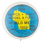 Model A Ford World Meet  Event Button Museum
