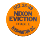 Nixon Eviction Event Button Musem