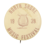 North Shore Music Festival Event Button Museum