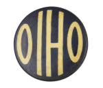 Ohio Blue Event Button Museum