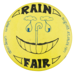 Rain Fair Aberdeen Smileys Button Museum