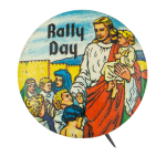 Rally Day Event Button Museum