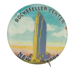 Rockefeller Center New York Event Button Museum