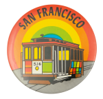 San Francisco Trolley Event Button Museum