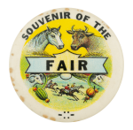 Souvenir of the Fair Event Button Museum