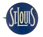 St. Louis Blue Event Button Museum
