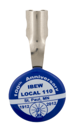 St Paul IBEW 100th Anniversary Event Busy Beaver Button Museum
