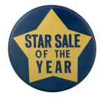 Star Sale of the Year Event Button Museum