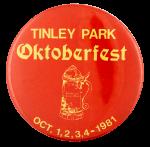Tinley Park Oktoberfest event busy beaver button museum