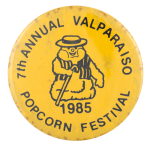 Valparaiso Popcorn Festival event busy beaver button museum