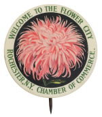 Welcome to the Flower City Event Button Museum