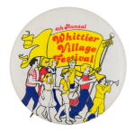 Whittier Village Festival Event Button Museum