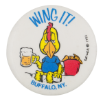 Wing it Event Button Museum