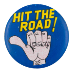 Hit the Road Humorous Button Museum
