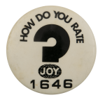 Rate Joy Ice Breakers Busy Beaver Button Museum