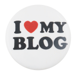 I Heart My Blog I ♥ Buttons Button Museum