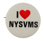 I Love NYSVMS I ♥ Buttons Busy Beaver Button Museum