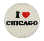 I Love Chicago Two I Heart Button Museum