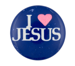 I Heart Jesus I heart Button Museum