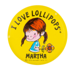 I Love Lollipops I ♥ Buttons Button Museum