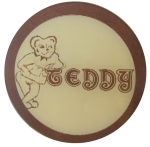 Teddy Flasher Button Social Lubricators