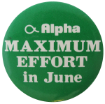 Maximum Effort In June, Events, Button Museum