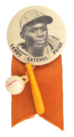 Leroy Satchel Paige Innovative Button Museum