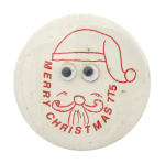 Merry Christmas Santa Innovative Button Museum