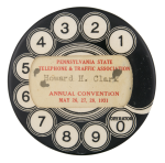 Pennsylvania State Telephone & Traffic Association Innovative Button Museum