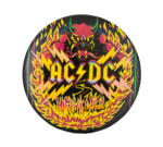 AC/DC Highway To Hell Music Button Museum