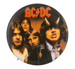 AC/DC Highway To Hell Group Music Button Museum