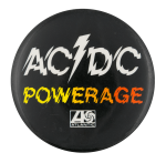 AC/DC Powerage Music Button Museum