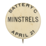 Battery C Minstrels Music Button Museum
