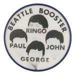 Beattle Booster Music Button Museum