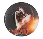 Bon Scott AC DC Music Button Museum