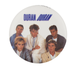 Duran Duran Three Music Button Museum